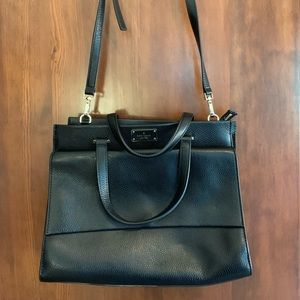 Kate Spade black briefcase